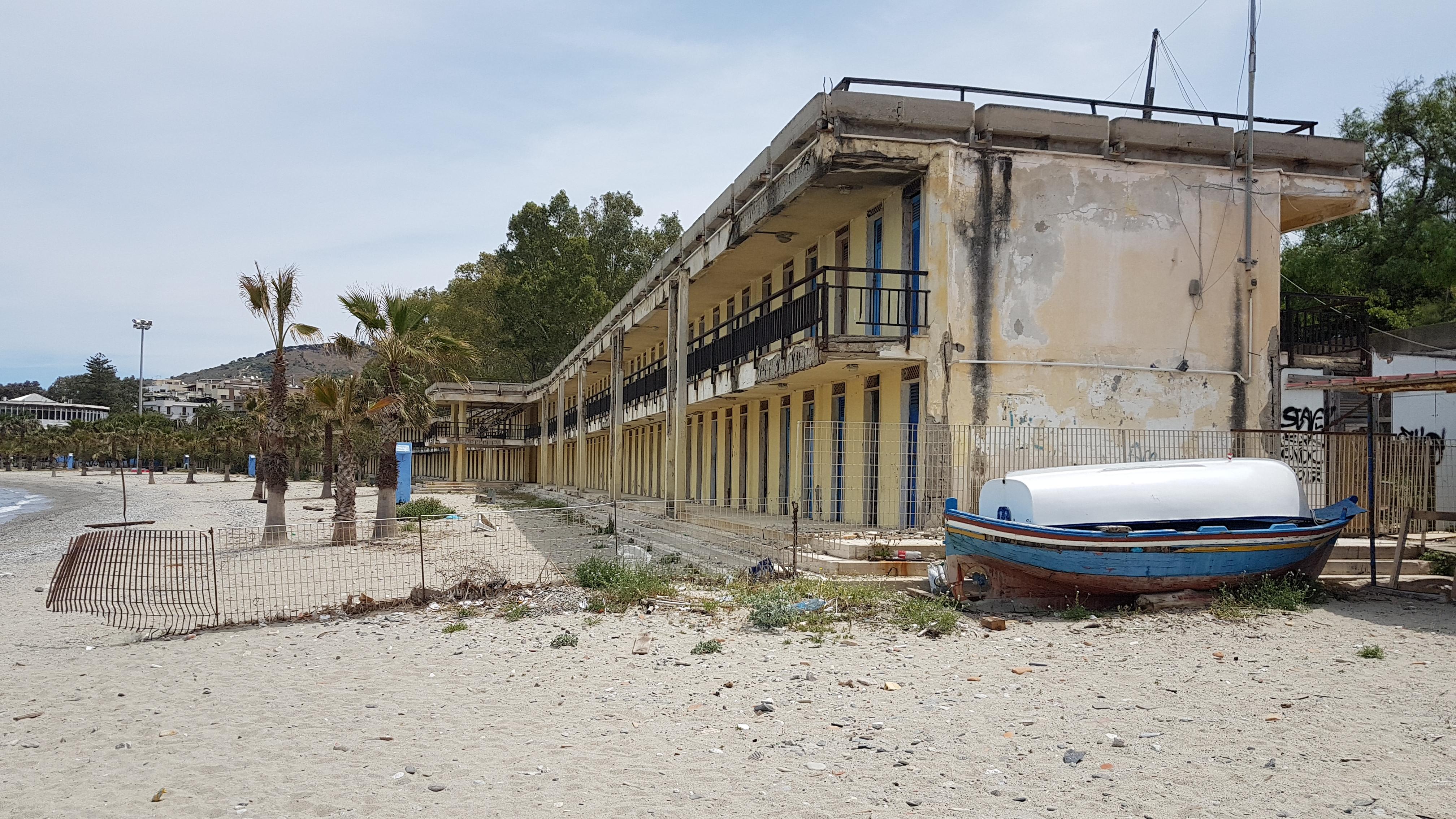 Nuccio Pizzimenti, Intervista sul Lido Comunale di reggio Calabria, estate 2019 3