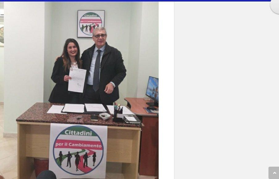 """Eugenio Cartisano e Francesca Fortugno Associazione """"Cittadini per il Cambianento"""": Giovani e Turismo binomio chiave per lo sviluppo del territorio reggino. 2"""