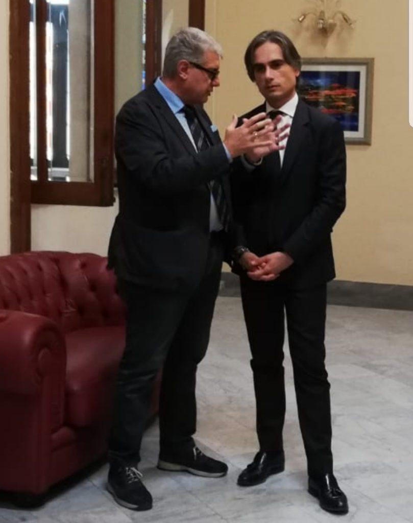 Il presidente Nuccio Pizzimenti, le bugie del Sindaco  Falcomatà sui lavori di ristrutturazione del Lido Comunale 3