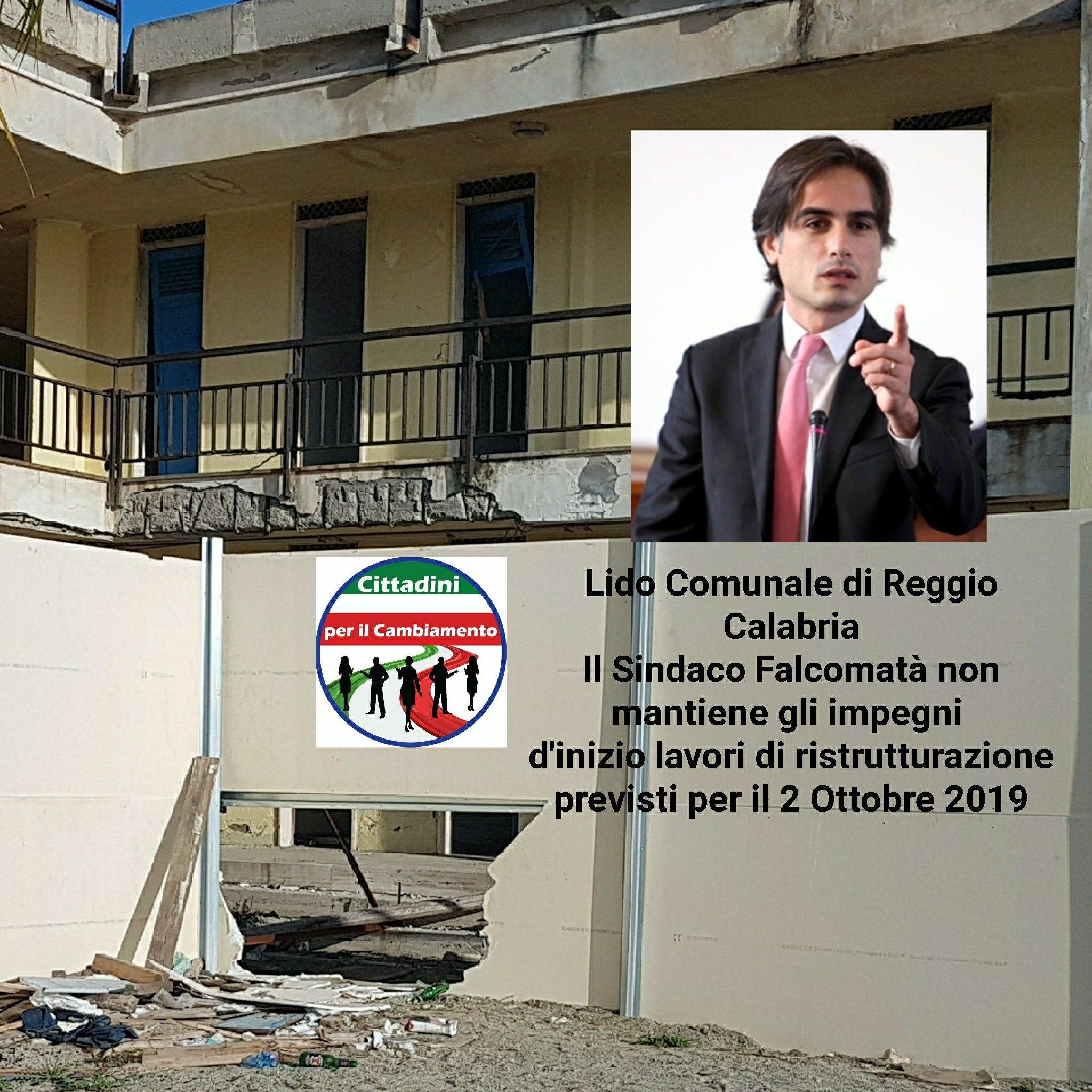 Nuccio Pizzimenti, Con il Lido Comumale in uno stato di completo abbandono e un porto che assomiglia ad un quadro di natura morta, Reggio Calabria non potrà mai diventare una Città turistica. 2