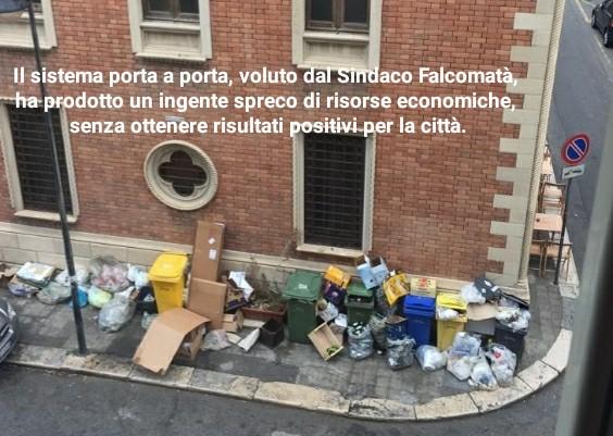 Nuccio Pizzimenti, il sistema porta a porta, voluto dal Sindaco Falcomatà, ha prodotto un ingente spreco di risorse economiche, senza ottenere risultati positivi per la città. 1