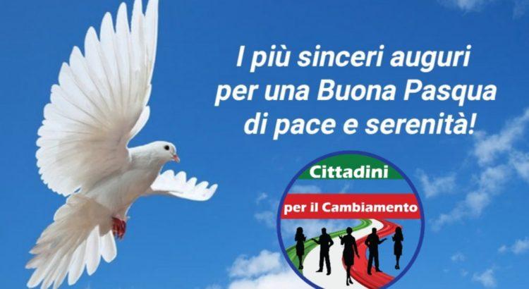 """Santa Pasqua, gli Auguri del Presidente dell'Associazione Cittadini per il Cambiamento"""", Nuccio Pizzimenti. """"Mettiamo il Covid-19 alla porta"""". 1"""