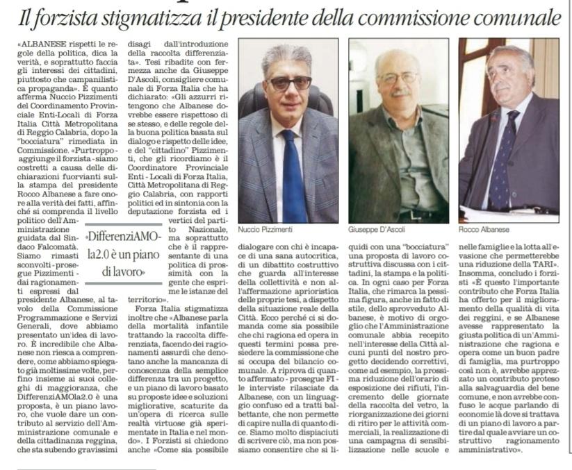 """Nuccio Pizzimenti, su IMU e Tasi, replica, rincarando la dose: Rocco Albanese si è dimostrato un """" Asino Politico """". Il Sindaco Falcomatà mente ai Reggini ! 4"""