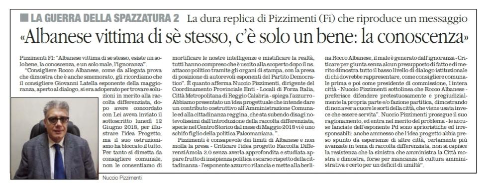 """Nuccio Pizzimenti, su IMU e Tasi, replica, rincarando la dose: Rocco Albanese si è dimostrato un """" Asino Politico """". Il Sindaco Falcomatà mente ai Reggini ! 3"""