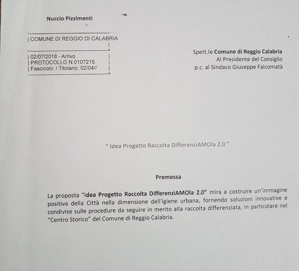 """""""Idea Progetto raccolta DifferenziAMOla 2.0"""" Proposta per migliorare la raccolta differenziata dei rifiuti nella Città di Reggio Calabria 21"""