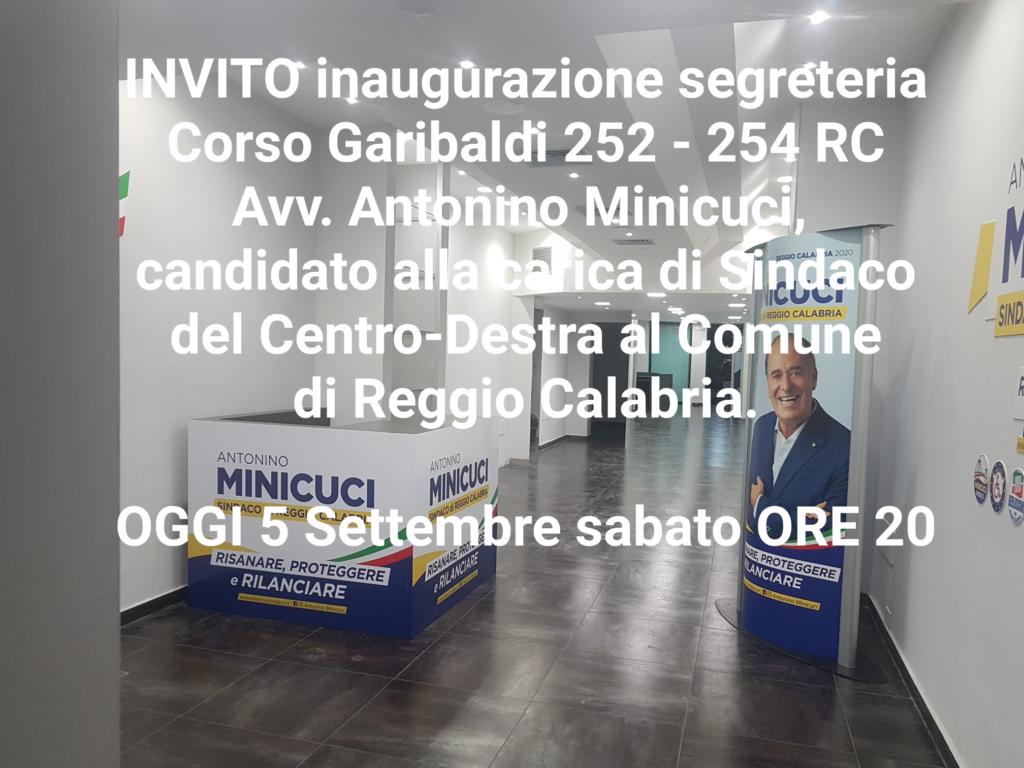 Antonino Minicuci inaugura la segreteria politica. 4