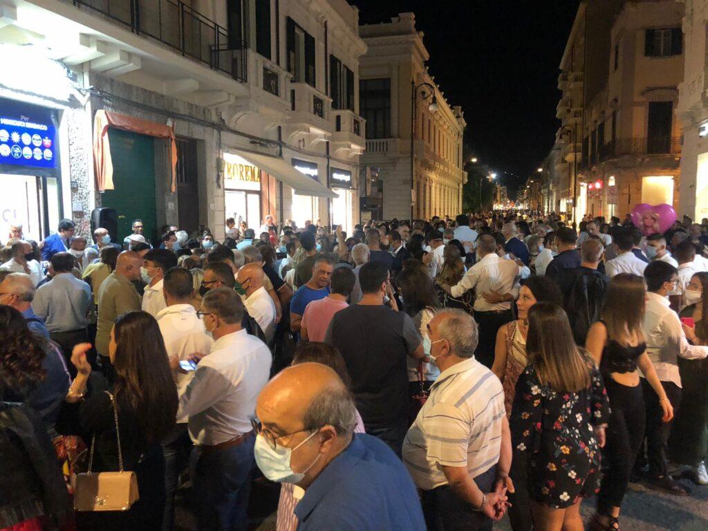 Grande partecipazione alla inaugurazione della segreteria del candidato Sindaco Minicuci 4