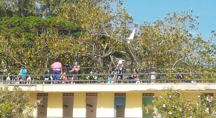 Reggio Calabria, dopo la segnalazione al Prefetto Mariani, per la messa in sicurezza del Lido Comunale, sequestrata dai vigili urbani la palestra all'aperto sopra la struttura balneare. 1
